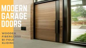 sliding garage doorsModern Garage Doors  YouTube