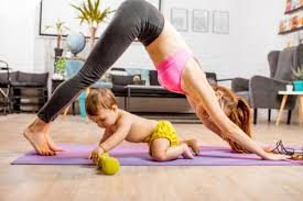 exercising after giving birth gyms