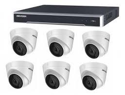 Hikvision <b>8 Channel</b> NVR with 8 PoE, 2TB <b>HD</b> & x6 <b>5MP</b> Turret ...