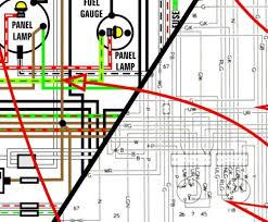 wiring vw bus outpost 1968 1969 volkswagen van kombi microbus 11″ x 17″ color wiring diagrams