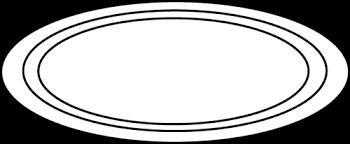 carpet clipart black and white. oval black and white clipart carpet