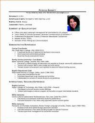 Sample Of Resume Format In Philippines Proyectoportal Com