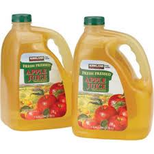 apple juice brands. kirkland signature fresh pressed apple juice brands s