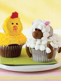 cute cupcakes pictures. Unique Cute Chick And Lamb Cupcakes On Cute Pictures U