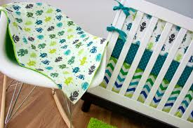 lime crib sheet
