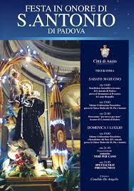 La Città di Anzio celebra il Santo Patrono, Sant'Antonio di ...