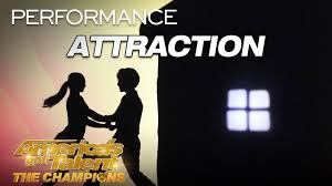 Attraction Shadow Dance Group Tells Emotional Epic Story Americas Got Talent The Champions