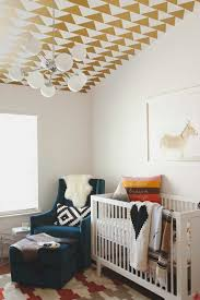Modern Geometric Patterns With Warm Colors And Textures   10 Aztec Kids  Rooms   Tinyme Blog