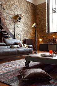 red brick wallpaper livingom wall tiles grey in effect ideas accent living room with post