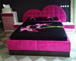 Purple Heart Bed