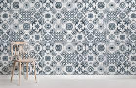 light grey portuguese tile texture room wall murals