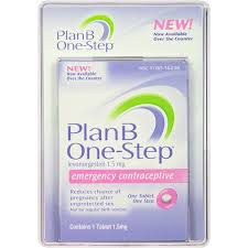 Plan B Plus Birth Control Plan B One Step Emergency Contraceptive 1 Tablet 1 5 Mg Walmart Com