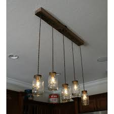 diy 5 light mason jar chandelier chandelier kit