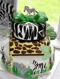 Baby Shower Safari Cake  The Wording Was Suggested By The Cu2026  FlickrBaby Shower Safari Cakes