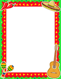 mexican food border clip art. Fine Food Pin By Muse Printables On Page Borders And Border Clip Art  Pinterest  Cinco De Mayo Borders De Mayo With Mexican Food E