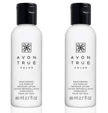 avon moisture effective eye makeup remover lotion 2 ounce lot of 2 great