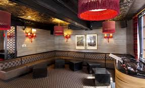 pvc ceiling tiles in a nightclub