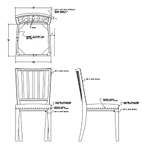 chair design drawing. Gustavian Chair Design Drawing | By Hudson R