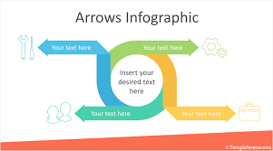 Infographic For Powerpoint Arrow Infographics Powerpoint Template Templateswise Com