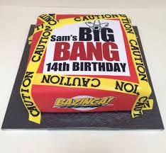 Big Bang Theory themed cake Big Bang birthday Pinterest.