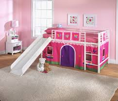 bunk beds with slides for girls. Simple Girls Girlsu0027 Loft Bed With Slide 80 X 78 42 In  To Bunk Beds With Slides For Girls I