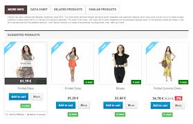 products page related products prestashop module