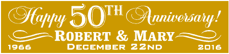 50th anniversary party banners golden wedding anniversary Wedding Anniversary Banners Design Wedding Anniversary Banners Design #16 50th wedding anniversary banner designs