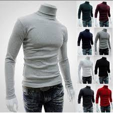 <b>2018 New</b> Autumn <b>Winter Men'S</b> Sweater <b>Men'S</b> Turtleneck Solid ...