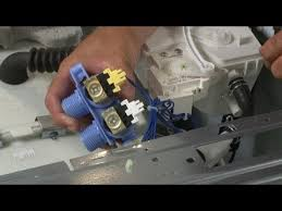 whirlpool washer water inlet valve replacement 8182862