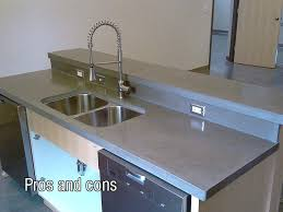how to polish concrete countertops by hand pros and cons of concrete how to polish concrete countertops