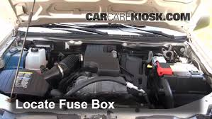 replace a fuse 2004 2012 chevrolet colorado 2008 chevrolet 2007 Colorado Fuse Box Replacement replace a fuse 2004 2012 chevrolet colorado 2008 chevrolet colorado wt 2 9l 4 cyl standard cab pickup (2 door) Electrical Fuse Box Replacement