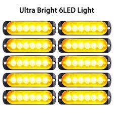 Amazon Com Zqasales 10pcs Emergency Strobe Lights Ust Proof
