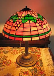 home antique furniture lighting old tiffany style table lamp i252