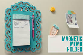 How To Make A Magnetic Memo Board Mesmerizing 32 Magnetic Fridge Notepads You Can Make From Scratch Full Home Living