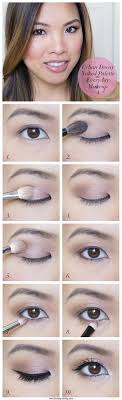 everyday makeup tutorials for brown eyes