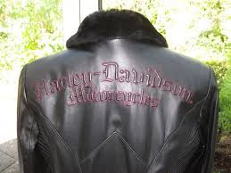 harley davidson las leather jacket genuine limited edition as new