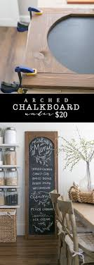 31 and easy diy arched chalkboard