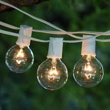 large bulb outdoor string lights best of clear globe string lights white cord led light bulb