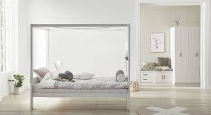 Massivholz Himmelbett 120x200 Cm Von Lifetime Living Style