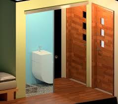 sliding door for interior