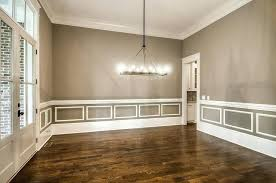 chair railing painting ideas dining room with rail design pertaining to decor 17