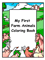 Add color to the peaceful picture of the horse outside of the barn. Farm Animals Coloring Pages And Printable Activities 1