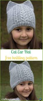 Kitty Hat Knitting Pattern