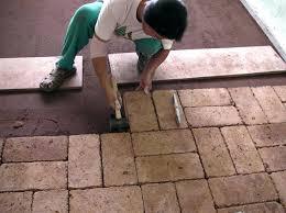 brick tile where