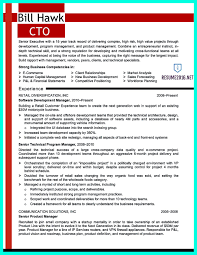 Cto Resume Or Chief Technical Officer Resume Can Be Considered As