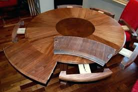 expandable round dining tables expanding circular dining table expanding round table plans home wallpaper