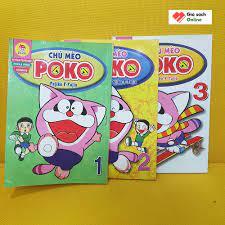 Trọn bộ 3 tập Chú Mèo Poko - Fujiko.F.Fujio - Giá Sách Online.com