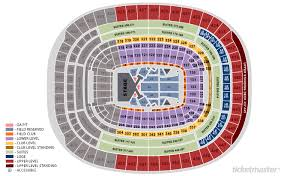 Fedex Stadium Chart Fedex Field Seating Chart Fedex Field Landover Maryland