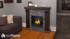 real flame avondale electric fireplace mantel