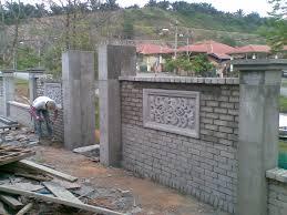 Small Picture Brick Fence Designs Ideas geisaius geisaius